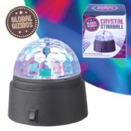 Global Gizmos Crystal Starball Disco Light